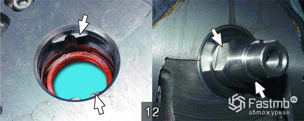 Система смазки двигателя ВАЗ 2110 шаг 12
