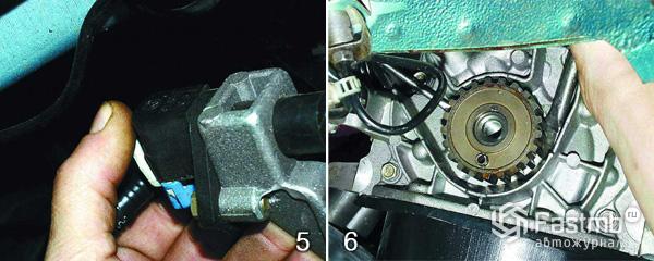 Система смазки двигателя ВАЗ 2110 шаг 5-6
