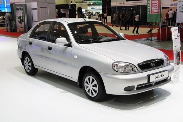Самые продаваемые авто в Украине за 2013 год