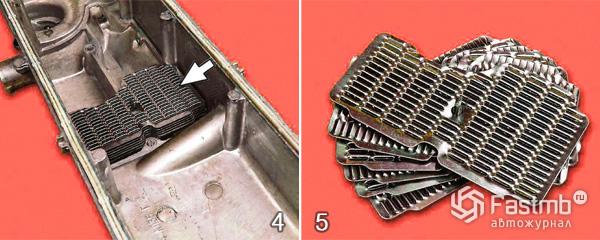 Очистка системы вентиляции картера автомобиля 2110 шаг 4-5