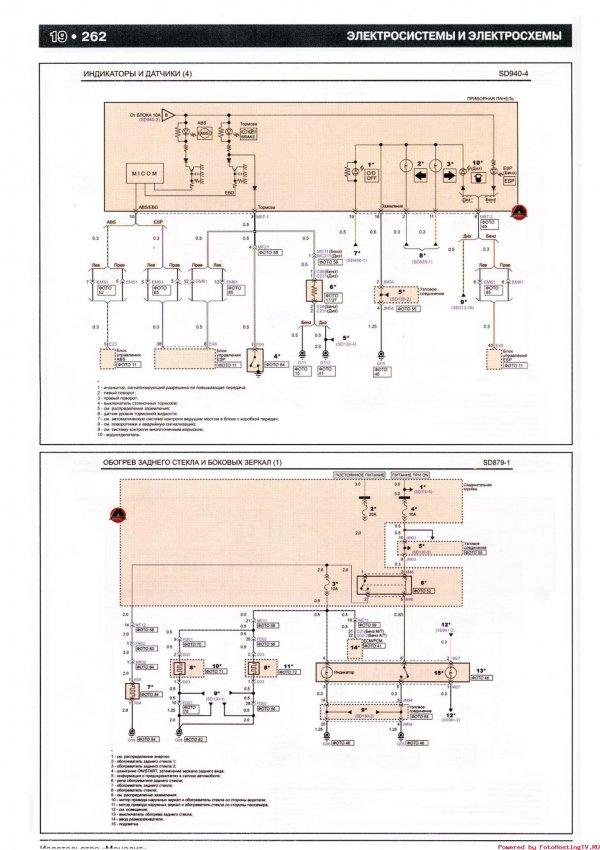 Индикаторы и датчики схема 2