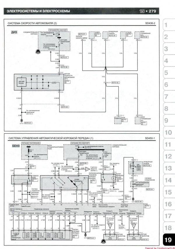 Система пуска и подогрева топливного фильтра (ДИЗ) 3