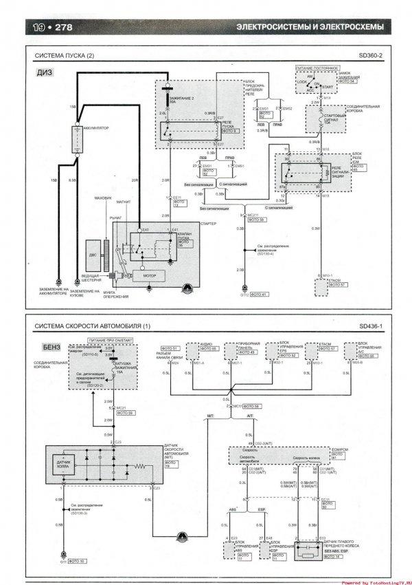 Система пуска и подогрева топливного фильтра (ДИЗ) 2