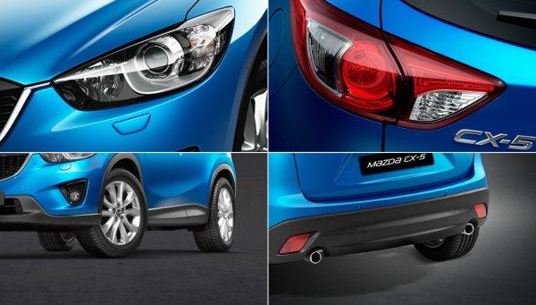 Внешний облик новой Mazda CX-5