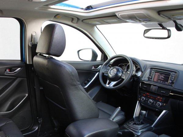 Расход топлива Mazda CX-5