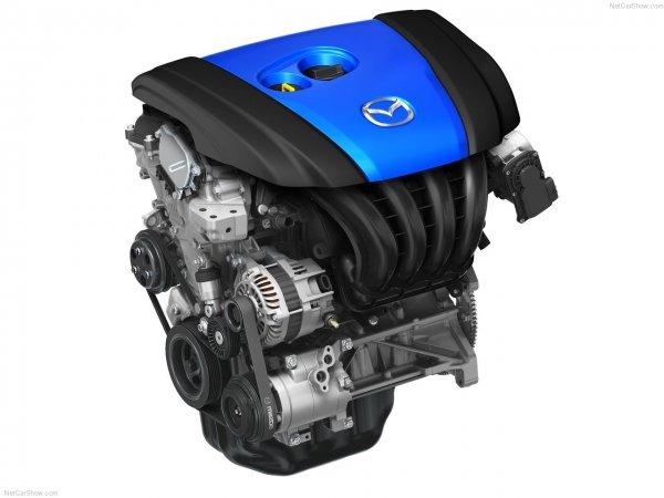 Mazda CX-5 2013 фото двигателя с SKYACTIV