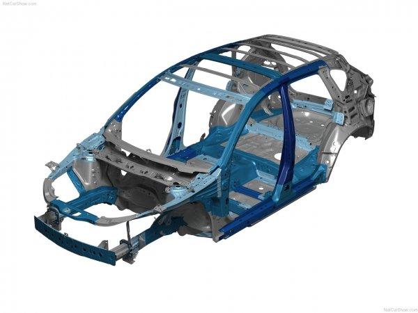 Mazda CX-5 2013 фото каркас машины