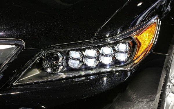 фото Acura RLX 2014 - фары передние