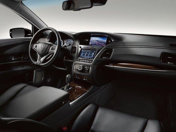 фото новой Acura RLX 2014 - салон