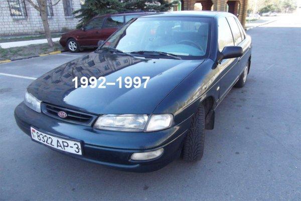 Электросхемы Kia Sephia 1992–1997
