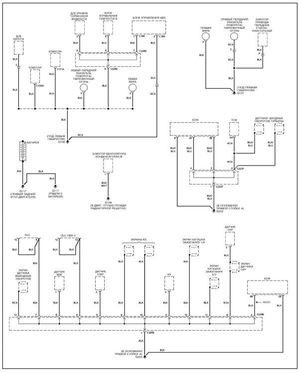 Схема киа спортейдж 1 фото 579