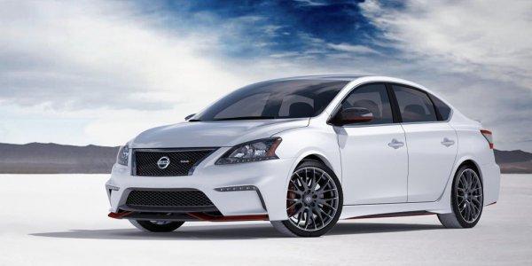 Фотографии спортивного Nissan Sentra Nismo 2014