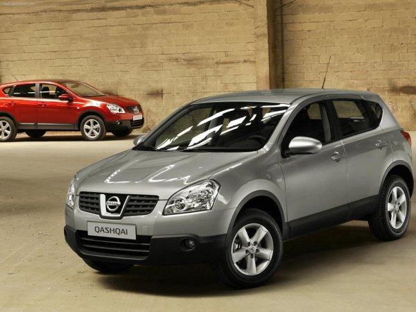 Nissan Qashqai - лучшие кроссоверы 2013 в Украине