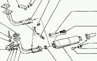Система выпуска автомобиля - устройство и неисправности