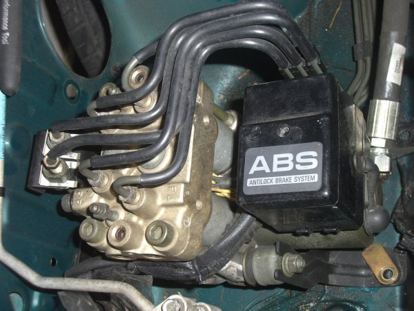 Блок управления АБС