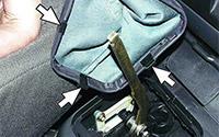 Как снять рычаг переключения передач ВАЗ 2107