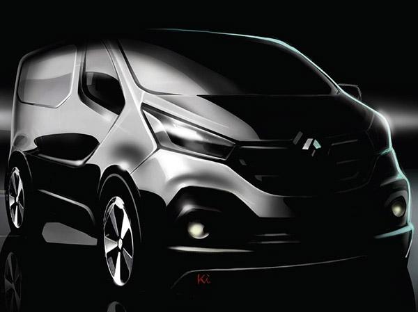 Новое поколение Renault Trafic: смелый дизайн и технологии F1