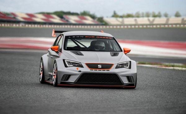 Фотографии тюнингованного SEAT Leon Cup Racer Concept 2013
