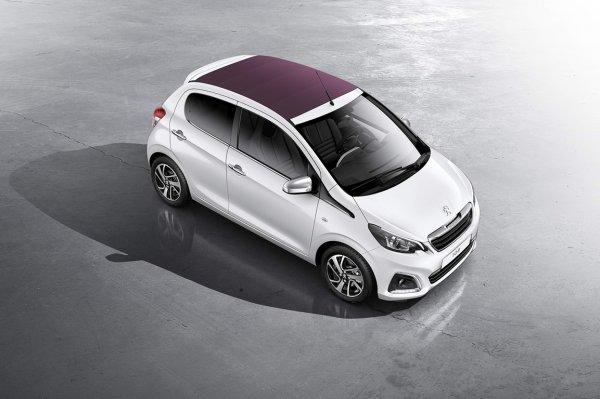 Peugeot 108 цена