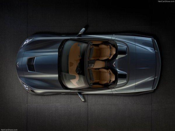 Фотографии машины с откидным верхом Chevrolet Corvette 2014 C7 Stingray Convertible