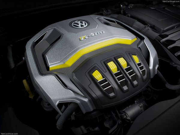 Двигатель Volkswagen Golf R 400