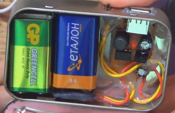 Автомобильная USB-зарядка на микросхеме МС33063А