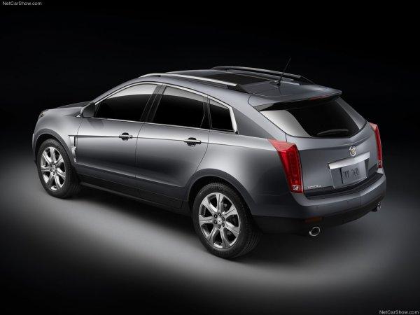 Цена Cadillac SRX 2014 в России