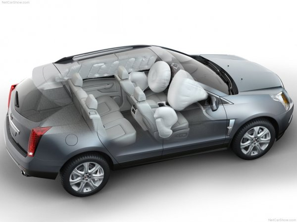 Безопасность Cadillac SRX 2014