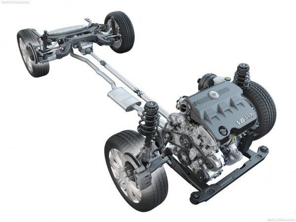 Двигатель Cadillac SRX 2014