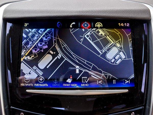 Сенсорный дисплей Cadillac SRX 2014