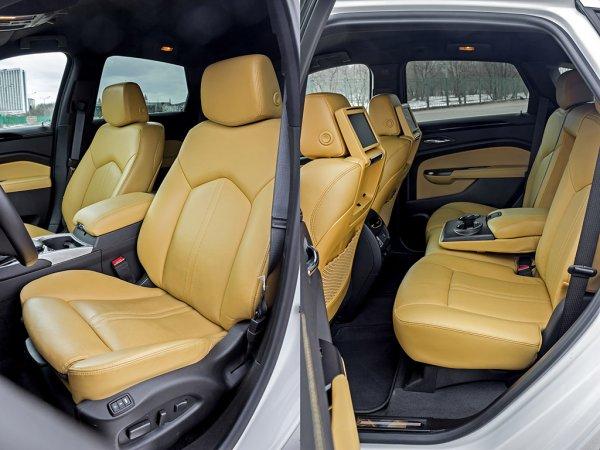 Салон Cadillac SRX 2014