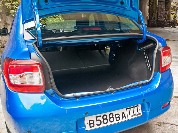 Багажник Renault Logan 2014