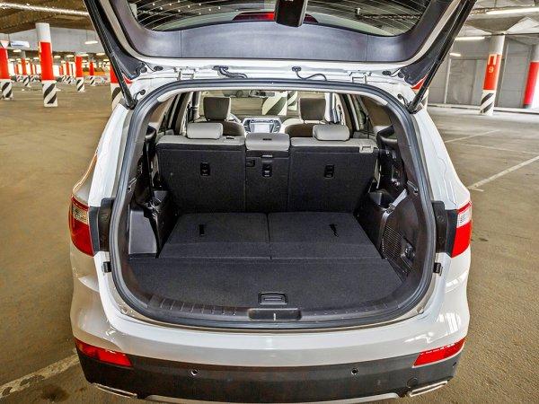 Багажник Hyundai Grand Santa Fe 2014 634-1842 л