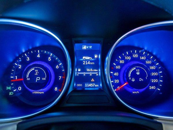 Спидометр и тахометр Hyundai Grand Santa Fe 2014