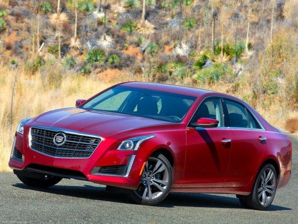 Цена Cadillac CTS 2014