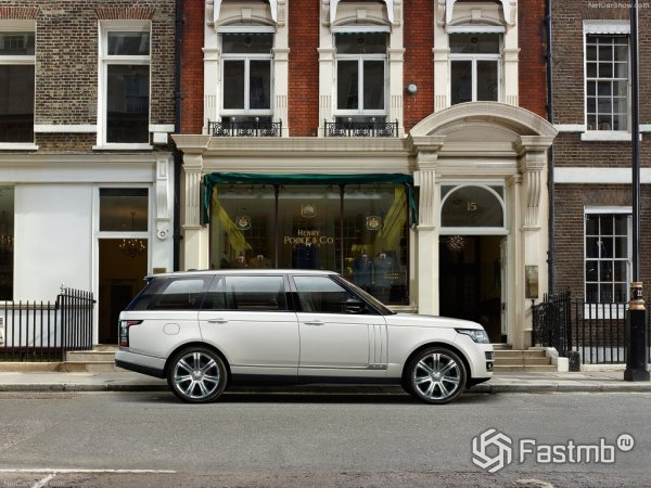 Технические характеристики Range Rover LWB 2014