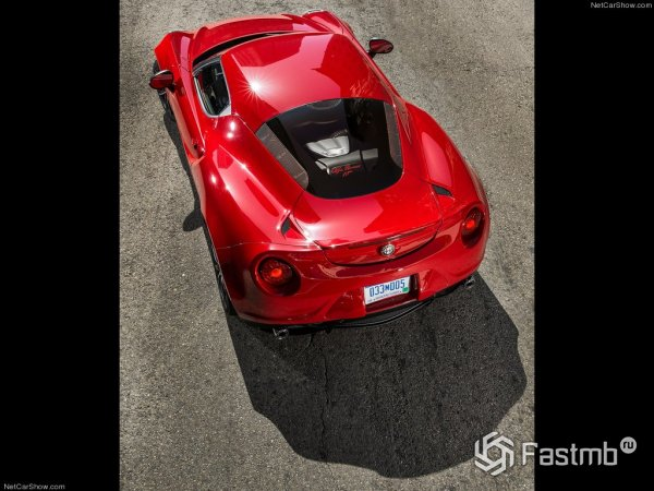 Технические характеристики Alfa Romeo 4C Coupe 2014