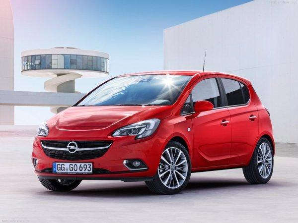 Opel Corsa E 2015 года