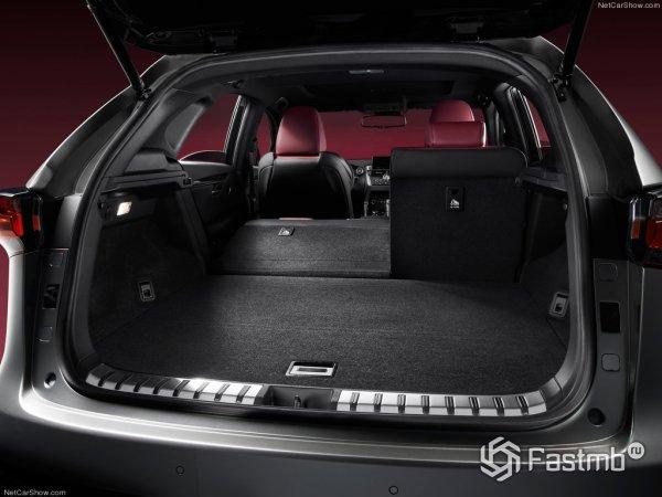 Багажник Lexus NX300h F Sport 2015