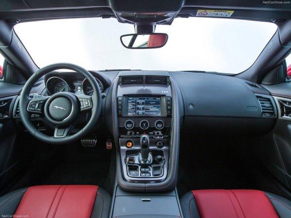 Салон Jaguar F-Type R Coupe 2014