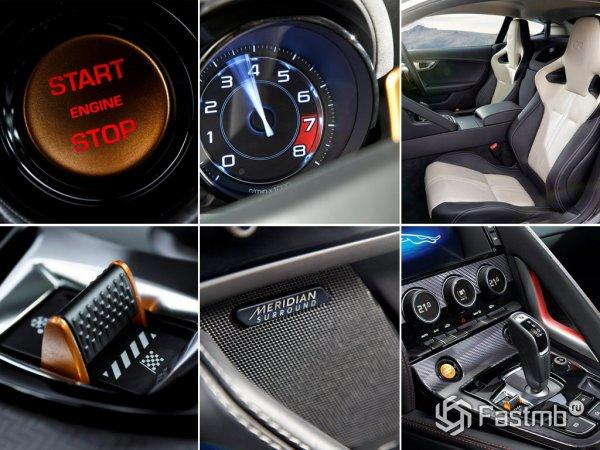 Интерьер Jaguar F-Type Coupe R 2014