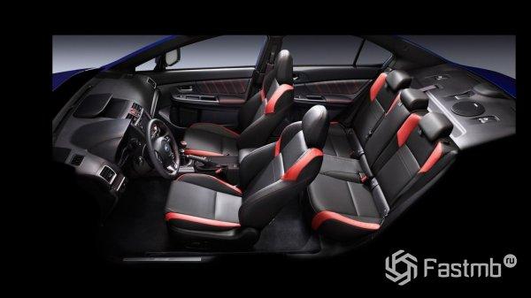 Салон Subaru WRX WH
