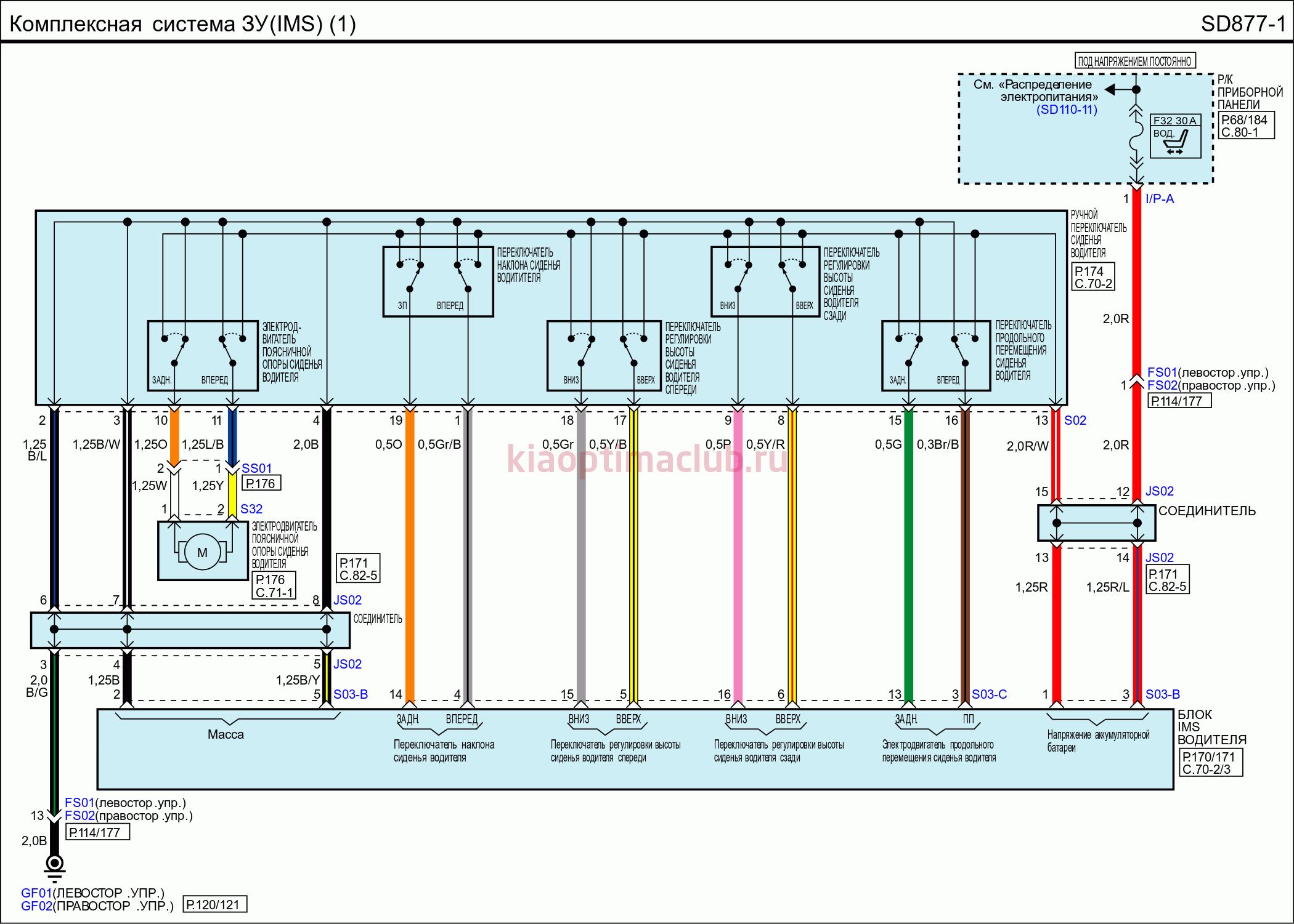 Daewoo Nexia Схемы электрооборудования