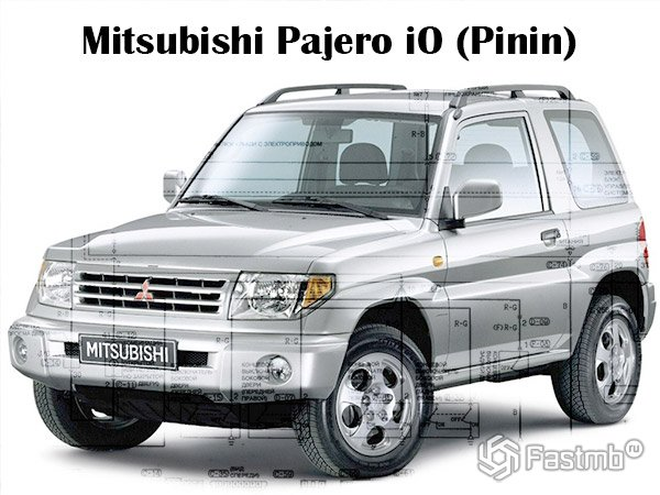 принцип работы 4wd mitsubishi pajero io