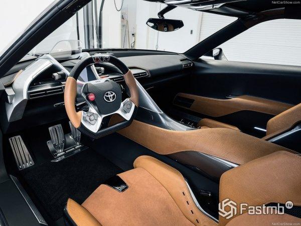 Салон Toyota FT-1 Graphite Concept 2016