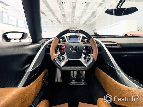 Салон Toyota FT-1