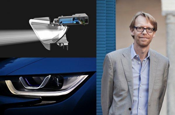 Лазерные фары BMW i8