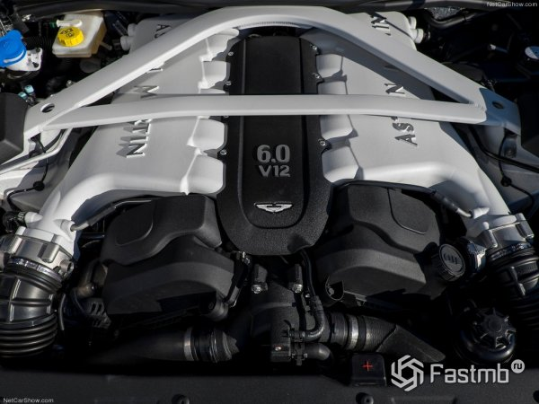 Технические характеристики Aston Martin Vanquish 2015