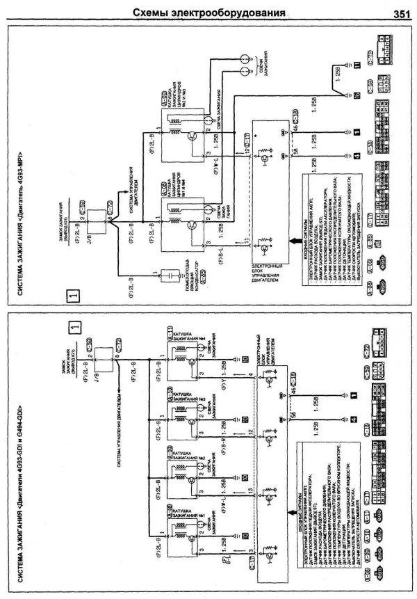 Схема управления 4g93