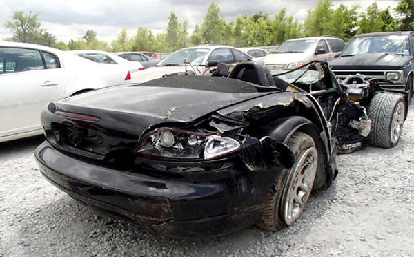 Битый Dodge Viper